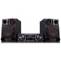 Mini system multi usb mp3 bluetooth efeitos dj 1800w - lg -
