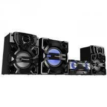Mini system panasonic 1800w bluetooth cd usb - sc-akx880lbk -