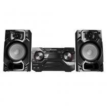 Mini System Panasonic SC-AKX220LBK, USB, Bluetooth, Max Juke, 450W RMS - Bivolt -