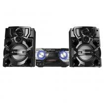 Mini System Panasonic SC-AKX660LBK Preto - CD, USB, Bluetooth, Max Juke - 1400W -