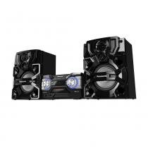 Mini System Panasonic SC-AKX700LBK USB Bluetooth 1800W RMS -