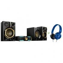 Mini System Philips 1 CD 1600W RMS - Bluetooth NFC + Headphone/Fone de Ouvido Philips
