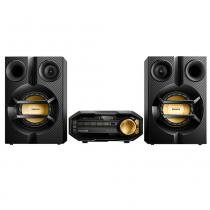 Mini System Philips FX10X/78, CD, USB, Bluetooth, NFC, Max Sound, 200W RMS -