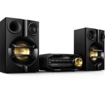 Mini system philips hi-fi fx10x/78, 200 watts rms, cd / mp3, bluetooth, usb, nfc -