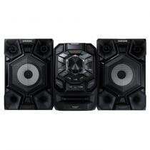 Mini system samsung mx-j650/zd com mp3, bluetooth, duplo usb, entrada auxiliar, giga sound e ripping  440 w -