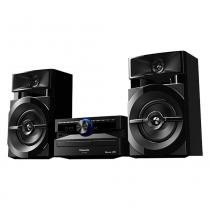 Mini System SC-AKX100LBK USB, Bluetooth, Wireless Media, Max Juke, 250W RMS - Panasonic -