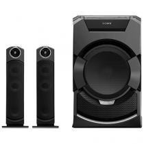 Mini System Sony Bluetooh DVD USB MP3 CD Player - Rádio AM/FM 2000W Função Karaokê Ripping MHC-GT5D