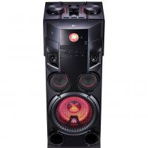 Mini System Torre LG 1000w USB MP3 Bluetooth OM7560 -