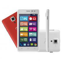 Mini Tablet Multilaser Branco MS5 Quadcore Dual Chip 8Mp Android 4.4 - Neutro - Multilaser