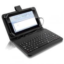 "Mini Teclado Multilaser Para Tablet Com Capa Compatível 10.1"" - TC171"