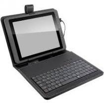 "Mini Teclado Multilaser Para Tablet Com Capa Compatível 10.1"" - TC171 - Multilaser"