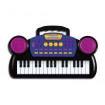 Mini Teclado Musical - Preto - DTC - DTC