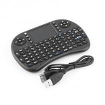 Mini Teclado Wirelles Sem Fio Tv Box Hdtv Smart Tv Keyboard - Importado