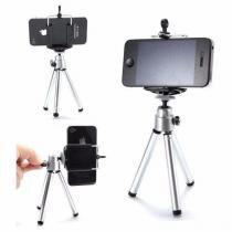 Mini tripe universal com suporte para celulares smartphones samsung lg sony motorola - Willhq