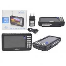 Mini Tv Digital Portatil 4.3 Mtv-43A - Exbom