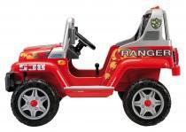 Mini Veículo 12V Ranger 538 Vermelho - Peg-Pérego - Vermelho - Peg-Pérego