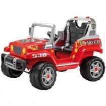 Mini Veículo Elétrico - Ranger Vermelho 12v - Peg-Pérego - Peg pérego