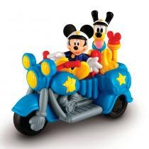 Mini Veículo - Moto Patrulha Mickey Mouse - Fisher-Price - Fisher Price