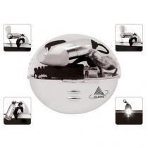 Mini ventilador e luminária p/ notebook 17006 - Clone