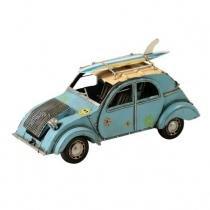 Miniatura Citroen 2CV TPV ano 1939 Decorativo de Metal azul Maria Pia Casa