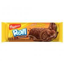 Minibolo Roll Cake Brigadeiro 34g - Bauducco -