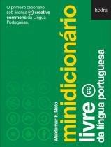 Minidicionario livre da lingua portuguesa - Hedra
