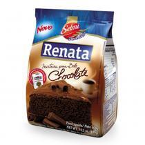 Mistura para Bolo Chocolate 400g - Renata -