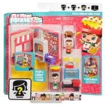 MixieQs Mini Quarto Pizza Palor - Mattel - Mattel