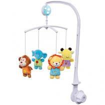 Móbile Musical Buba Baby Safari - Buba Toys