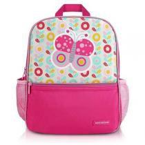 aa63c3c9086 Mochila Escolar Pequeninos Microfibra Pink Jacki Design -