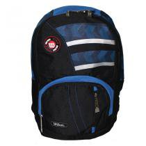 Mochila Esportiva WTIX12208C Preto/Azul - Wilson - Preto-Azul - Wilson