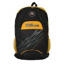 Mochila Esportiva WTIX13544A Preto/Amarelo - Wilson - Preto-Amarelo - Wilson