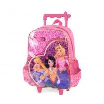 Mochila Fairytale Princess com Rodas Rosa - Princess