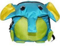Mochila infantil escolar de bichinho elefante animais verde (ak003) - Mc