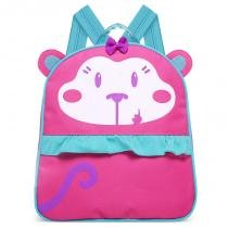 Mochila Infantil Macaquinha - Classic for Bags - Rosa - Classic for Baby Bags
