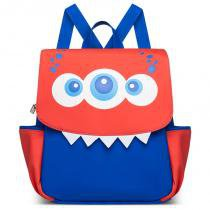 Mochila Infantil Monstro - Classic for Bags - Azul - Classic for Baby Bags