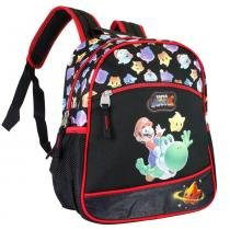 Mochila Infantil Super Mario CG29860 Preta - Super Mario Bros