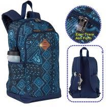 Mochila Sestini Magic Etnico Jeans Moderna Notebook Anti Furto Roubo -  075517-28 - bf4ec5017a05