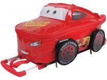 Mochilete com Rodinhas Tam. G Dermiwil - Carros Disney Pixar Relâmpago McQueen