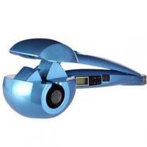 Modelador Cachos Nano Titanium Cacheador Modela Cachos Visor Azul - Bk imports