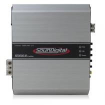 Modulo amplificador soundigital evolution sd3000.1d 1x3000w rms 1ohms - Soundigital