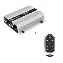 Módulo Amplificador T 800.1 Compact 2OHMS 800W digital + Controle Longa Distância Branco - TLC 3000 - Taramps