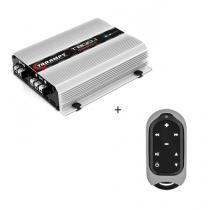 Módulo Amplificador T 800.1 Compact 2OHMS 800W digital + Controle Longa Distância Cinza - TLC 3000 C - Taramps