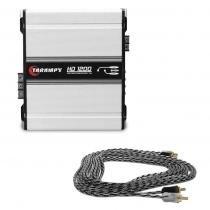 Módulo Amplificador Taramps HD 1200 1 Canal 1200W RMS 2 Ohms + Brinde - Mega empório
