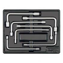Módulo com chave biela 8 à a19 mm 7 peças - Tramontina pro