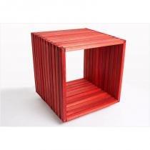 Módulo Dominoes com 45 x 45 Stain Vermelho - Mão  Formão - Mão  Formão
