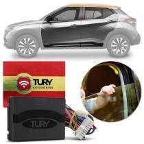 Módulo Vidro Elétrico Nissan Kicks 17 18 4 Portas Função Antiesmagamento Tury PRO 4.88 EH -
