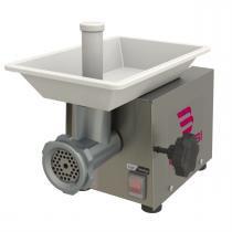 Moedor De Carne Bocal 5 Bivolt Motor 1/4 Cv Inox  Bmc-05 Braesi -