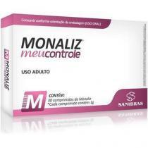 Monaliz Meu controle - 30 Comprimidos - Sanibras -
