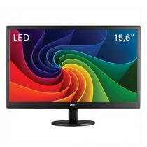 "Monitor 15,6"" LED HD E1670SWU/WM Widescreen, VGA, Backlight - AOC -"